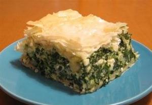 希腊菠菜馅饼